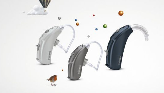 Bolero V hearing aids from Phonak