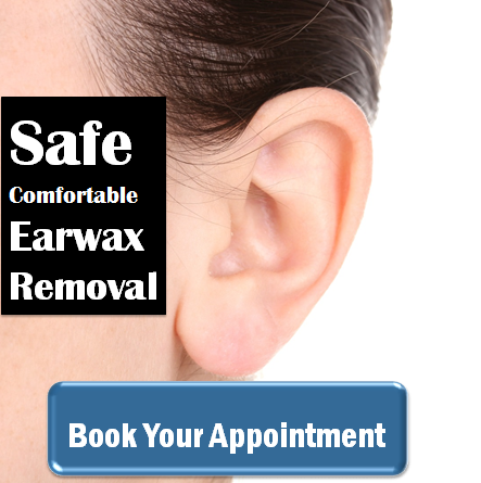 Safe, comforatable ear wax removal in Ireland