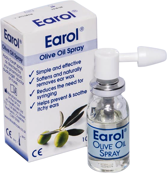 Earol Earwax Oil Spray