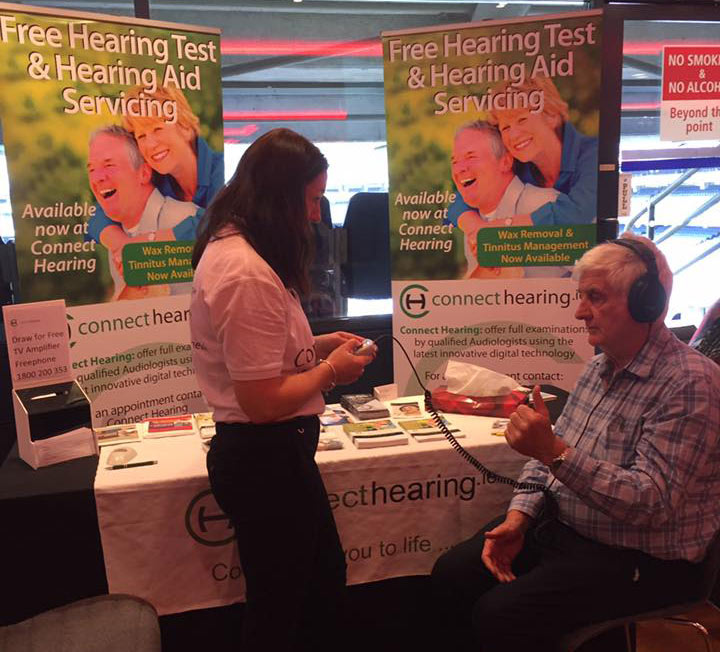 hearing tests Dublin, Heart & Stroke Conference