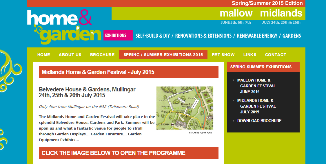 Midlands Home & Garden Exhibition Mullingar