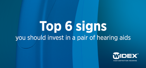 Top 6 signs you should consider a hearing aid